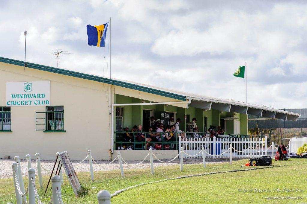 Cricket pavilion in Barbados.
