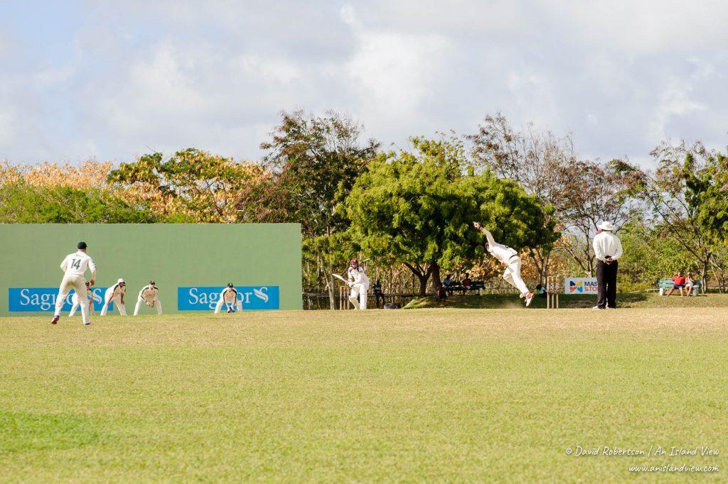 Cricket match in Barbados.