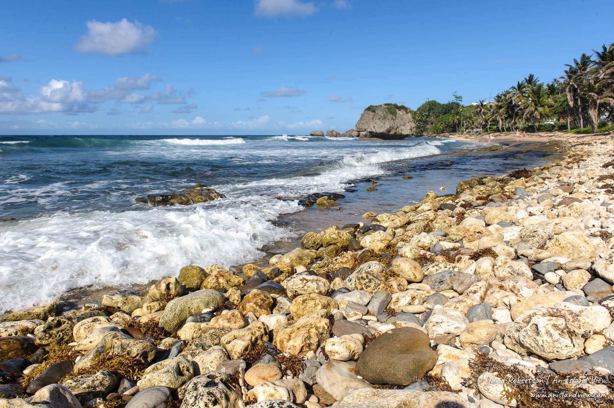 Bathsheba shore.